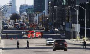 Policía no especificó si se trató de un acto deliberado o de un accidente. Foto: AFP