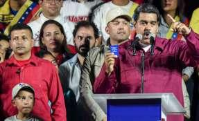"""La elección estuvo marcada por denuncias de """"chantaje"""" de los rivales de Nicolás Maduro. Foto: AFP"""
