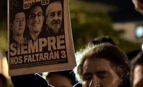 """La SIP impulsa un """"llamado humanitario"""" para recuperar los cuerpos de los periodistas ecuatorianos asesinados. Foto: Ecuavisa"""