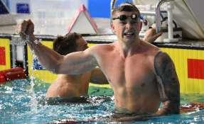 GLASGOW, Reino Unido.- Peaty registró un tiempo de 57 segundos, 13 céntecimas menos que su marca en los JJ.OO. de Rio. Foto: AFP