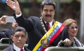 """Maduro dijo que el Estado asumirá por 90 días el """"diferencial"""" del aumento del salario. Foto: AP."""