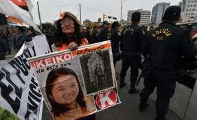 Tribunal peruano podría revocar la detención de Keiko Fujimori Foto: AFP