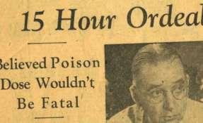 """Según reportó la prensa, Schmidt """"creía que la dosis de veneno no sería fatal""""."""