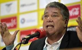 """El 'Bolillo' considera que la selección está """"volviendo a arrancar"""" con estos cotejos. Foto: AFP"""