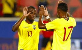 La 'Tricolor' venció 2-0 a los 'incas' en el estadio Nacional de Lima. Foto: Tomada de FEFecuador