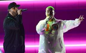 Drexler y reguetoneros conquistaron premios Grammy Latino. Foto: AFP