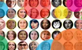 Las seleccionadas tienen entre 15 y 94 años y proceden de más de 60 países. Foto: BBC