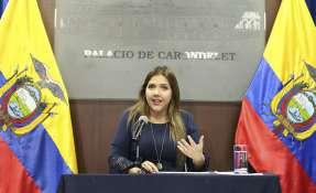 QUITO, Ecuador.- María Alejandra Vicuña presentó renuncia a su cargo. Foto: Flickr Presidencia.