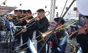 La final se realizó en la Plaza San Francisco en el centro de Quito. Foto: Ecuavisa