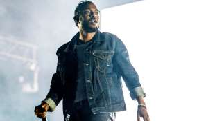 Kendrick Lamar durante su presentación en el Festival d'ete de Quebec en Quebec, Canadá. Foto: AP