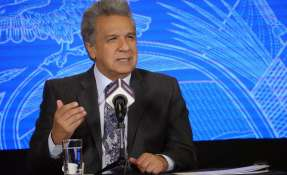 Presidente Moreno viajará a España tras visitar China y Catar. Foto: AFP