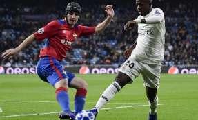 MADRID, España.- Este miércoles, Vinicius fue titular ante el CSKA de Moscú en Liga de Campeones. Foto: AFP