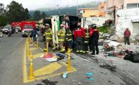 Foto: Bomberos Quito