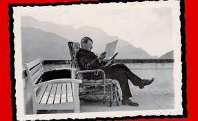 El hombre que quiso ser artista se hizo rico escribiendo, aunque no gracias a sus dotes literarias.
