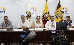 Repetirán el proceso de calificación de candidaturas en El Oro. Foto: CNE