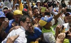Guaidó convoca movilización en toda Venezuela el 23 de febrero. Foto: AFP