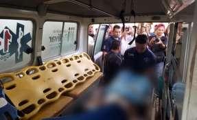 En el incidente resultaron heridos otros 12 de la etnia pemón. Foto: @AngelMedinaD