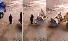 Video registrado en China conmociona a los internautas. Foto: Captura de video