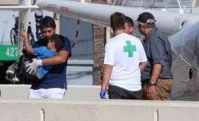 Según narró la prensa, el menor trató de comer algo de pasto. Foto: Cadena 3 Argentina