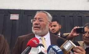 """QUITO, Ecuador.- Expresidente del TSE asegura que existen """"varias irregularidades en este proceso"""". Foto: Captura Video."""