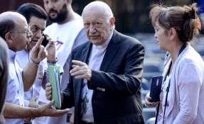 El papa acepta la dimisión del cardenal chileno Ezzati. Foto: AFP