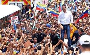 Nicolás Maduro lo acusó de haber fraguado un fallido complot magnicida. Foto: AFP