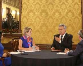 Presidente Moreno pidió a la ciudadanía que proponga nombres para Consejo de Participación Transitorio. Foto: Twitter Presidencia Ecuador