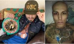 Lee Noble, con tumor cerebral y leucemia, 'campeón honorario' de la WBC.