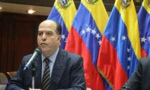 CARACAS, Venezuela.- El presidente del Parlamento, Julio Borges. Foto: Twitter: @asambleave.