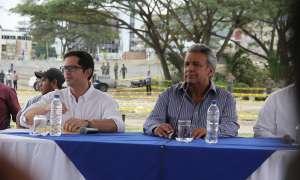 El Gobierno aceptó la dimisión de Carlos Bernal Alvarado, según informó la Secom. Foto: Archivo / Flickr Plan Reconstruyo Ecuador