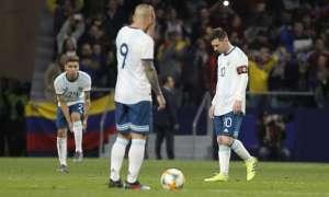 Messi en su regreso a la Selección.