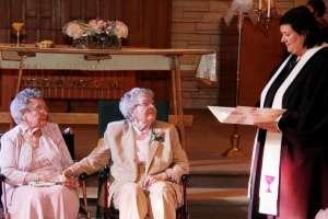 Pareja de 72 años de Iowa, finalmente casada