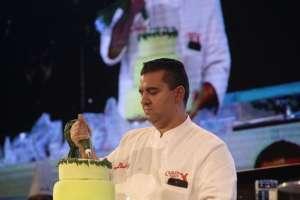 Conferencias del pastelero Buddy Valastro, durante el evento Quito Sweet Fest