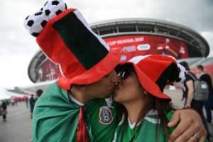 Portugal y México en Kazan el 18 de junio de 2017