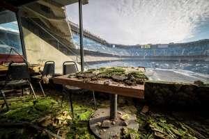 Así se ve el Estadio de Los Leones de Detroit desde la zona VIP.