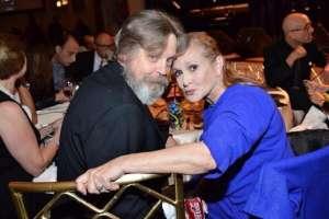 Luke y La Princesa Leia en el año 2014.
