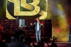 Apertura del concierto a cargo de Luis Barros /Foto: Anthony Navarro