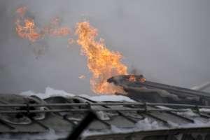 Explosión de terminal de gas en Austria