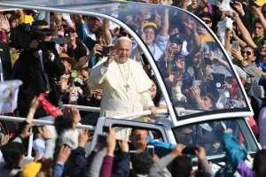 Visita del Papa Francisco a Chile / Fotos: AFP