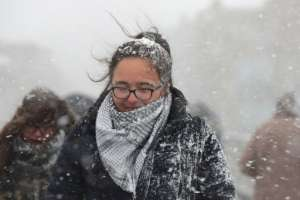 Ola de frío en Europa / AFP