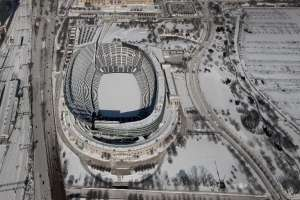 Estadio Soldier Field, en Estados Unidos. Foto: AFP