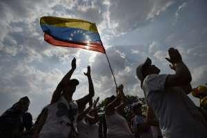 CÚCUTA, Colombia.- El concierto tiene como propósito recaudar fondos destinados a la compra de insumos para Venezuela. Foto: AFP