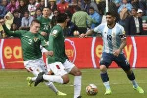 Bolivia aprovechó la altura de La Paz y derrotó a Argentina por la fecha 14 de eliminatorias.