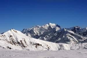 GRENOBLE, Francia.- De acuerdo con expertos, la nueva altitud de la montaña se sitúa en 4.808,72 metros.Foto: Jean-Pierre Clatot/AFP.