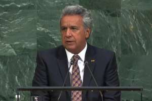 EE.UU.- El primer mandatario resaltó ante la ONU la fase de diálogos implementada por su Gobierno. Foto: Presidencia de la República