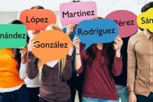 """Ocho de los diez apellidos más frecuentes de España son patronímicos terminados en """"ez""""."""