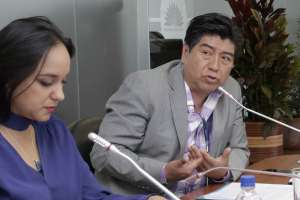 QUITO, Ecuador.- Yunda se abstuvó de votar el 7 de septiembre a la moción que exhortaba al presidente Moreno a convocar a una consulta popular. Foto: Tomado de Radio Huancavilca.
