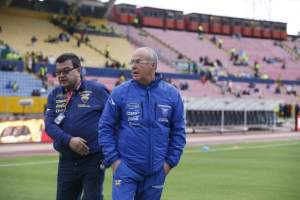 Jorge Célico confió en futbolistas que juegan normalmente en la altura. Foto: API
