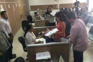 La jueza Gladys Martínez fue quien quedó asignada para está acción interpuesta por las cámaras de la producción. Foto: @lacamaragye