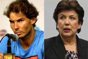 El tenista español demandó a la exministra francesa debido a que lo acusó de doparse. Foto: AFP